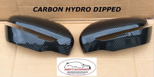 NISSAN JUKE 2014 ON PAIR OF WING MIRROR COVERS IN CARBON FIBRE STYLE